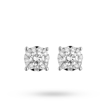Brilliant Cut 0.21ct Solitaire Style Studs