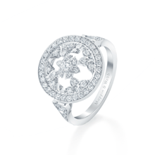 Empress White Gold and Diamond Ring