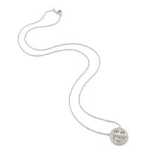 Empress Mini White Gold and Diamond Pendant
