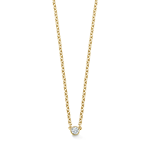 Gossamer Yellow Gold and Diamond Necklace