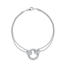 Fortune White Gold Bracelet